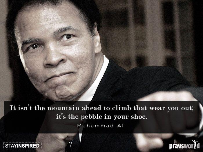 Pravs J- it's pebble in your shoe