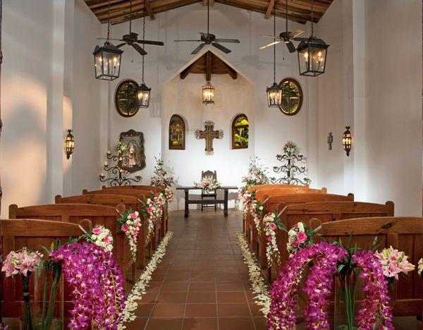 Elegant Catholic Chapel Destination Weddings