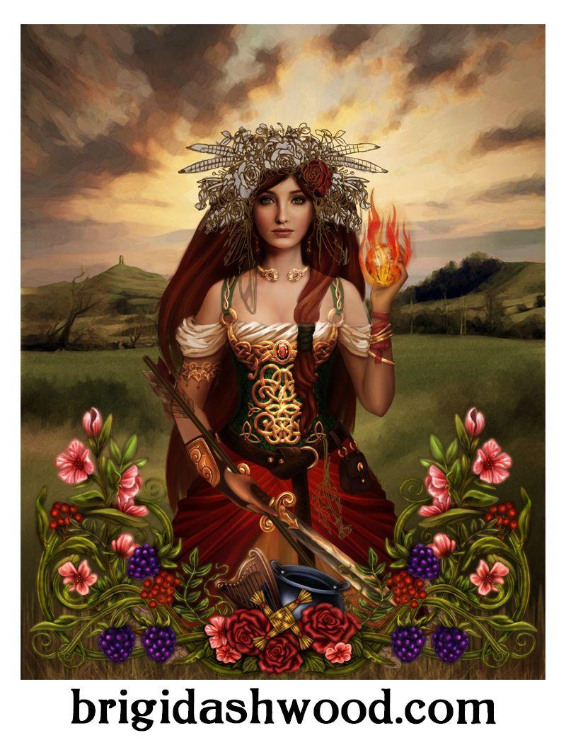 Celtic Goddess Figurines The
