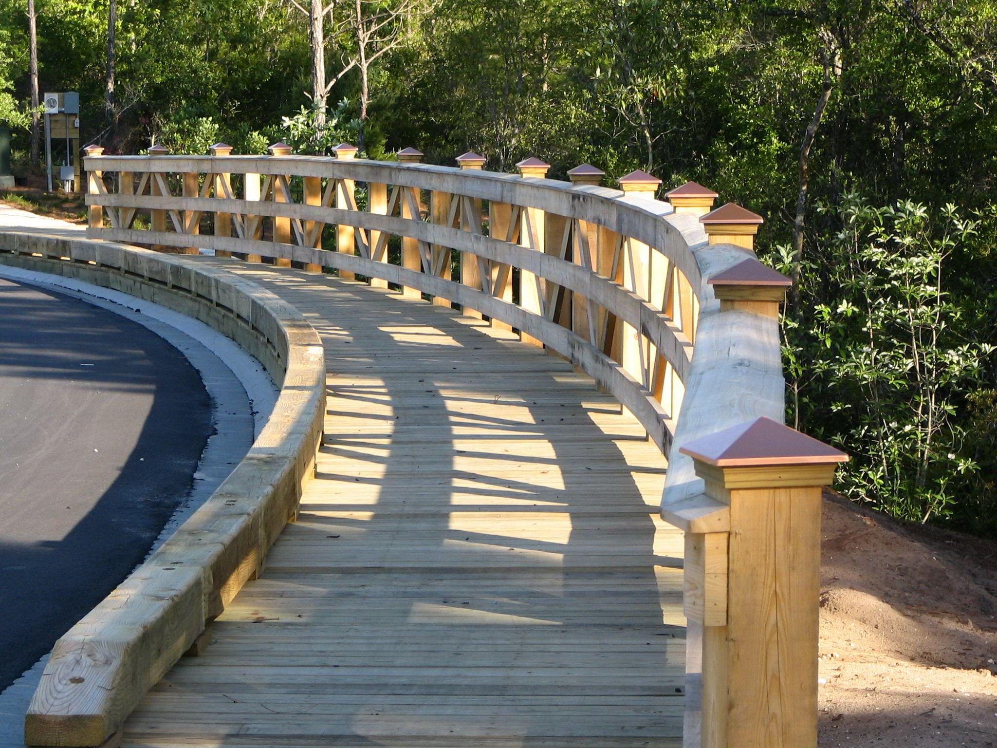 Best Nature Bridges Constructs Wooden Sidewalks With 400 x 300
