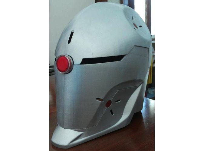 Gray Fox Helmet by nakamura_shop