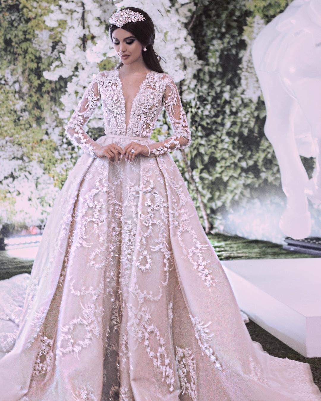 Pin von Dadoo Dorsaf auf Dream Wedding  Hochzeitskleid ballkleid