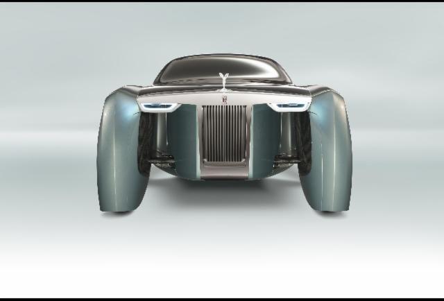 Rolls Royce 103EX - In Photos: Rolls-Royce 103EX - Forbes