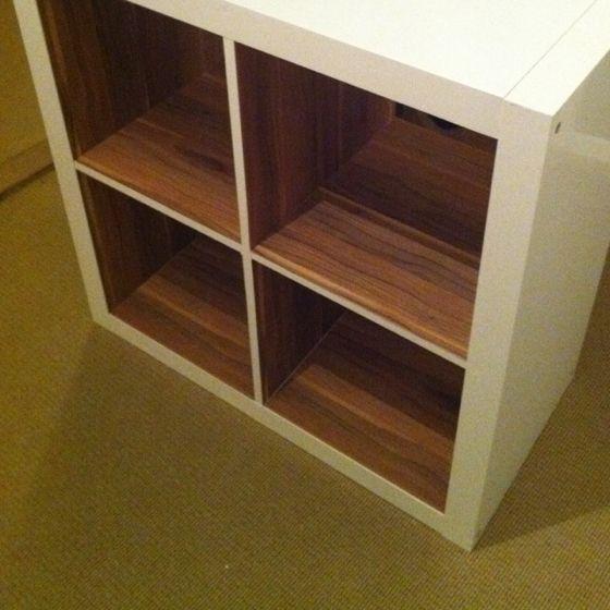ikea hack expedit cube ikea hacks pinterest hacks kerstin und flur ideen. Black Bedroom Furniture Sets. Home Design Ideas
