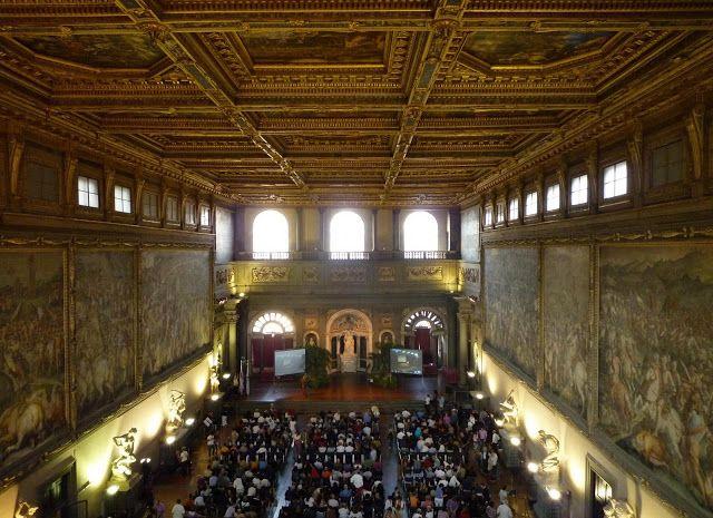 Los lugares tras el libro Inferno de Dan Brown: Salón de los Quinientos en el Palazzo Vecchio