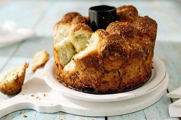 Kräuter-Parmesan-Brot