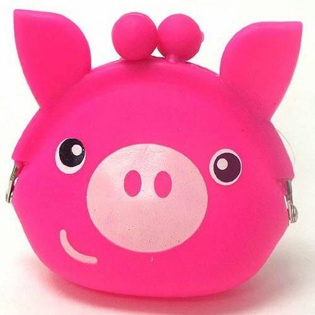 Pink Piggy Girls Jelly Silicone Coin Purse Kids Mini Purse in Clothing, Shoes & Accessories | eBay
