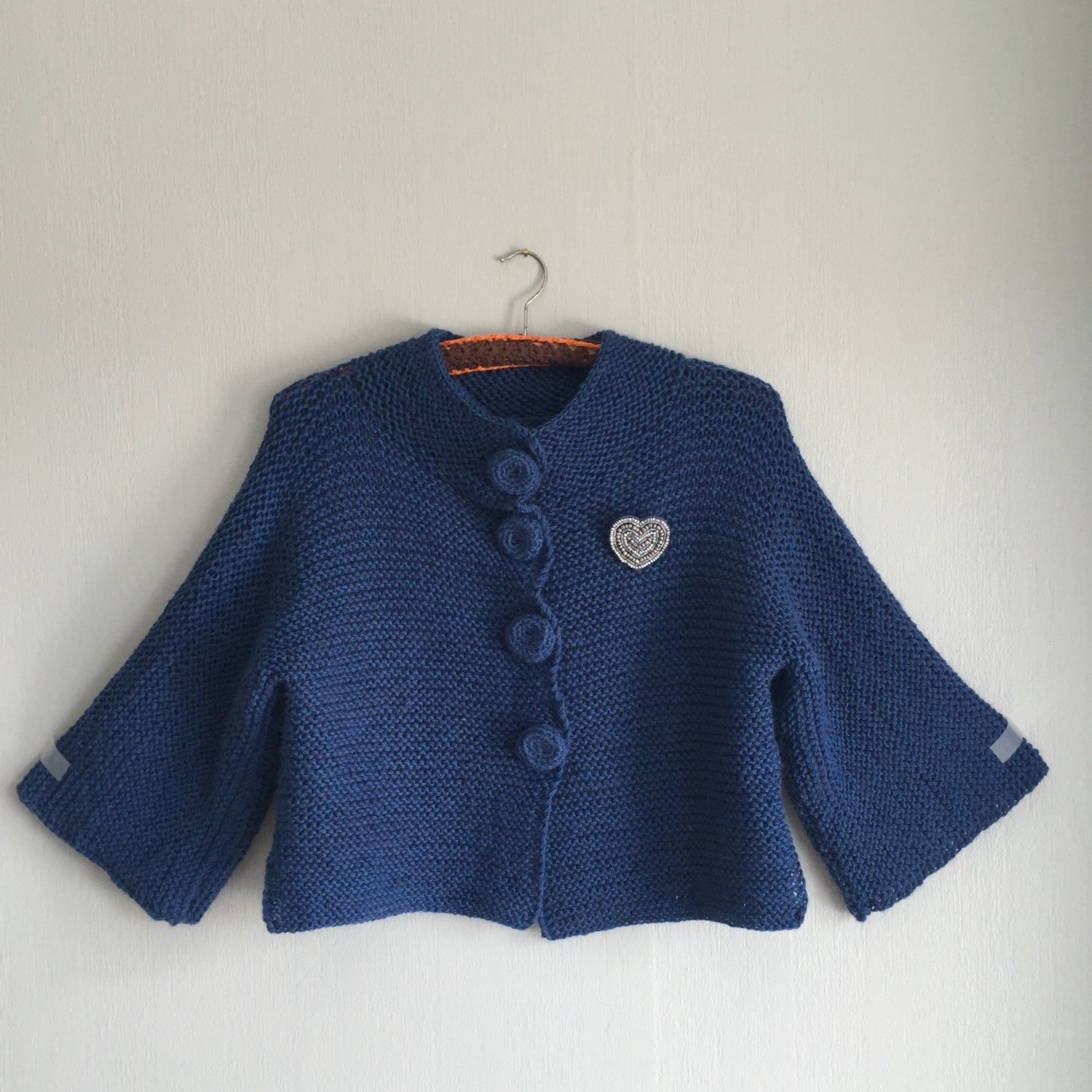 Cardigan M, Knitted Cardigan, Shrug, Knit Cardigan, Shrug Bolero ...