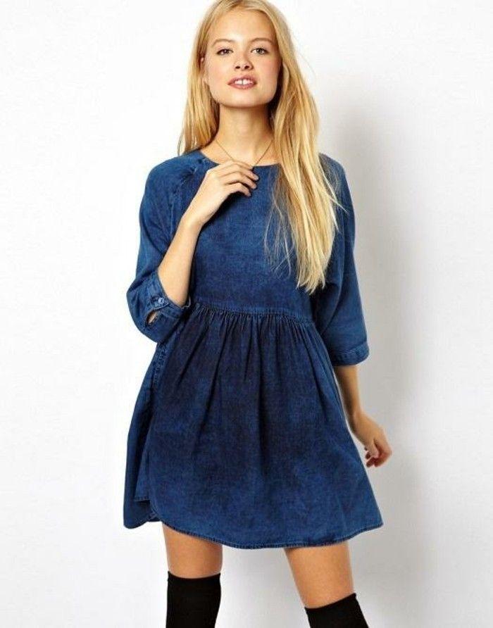Jeanskleider: So zeigen Sie Stil mit einem Jeanskleid | ✿ style ...