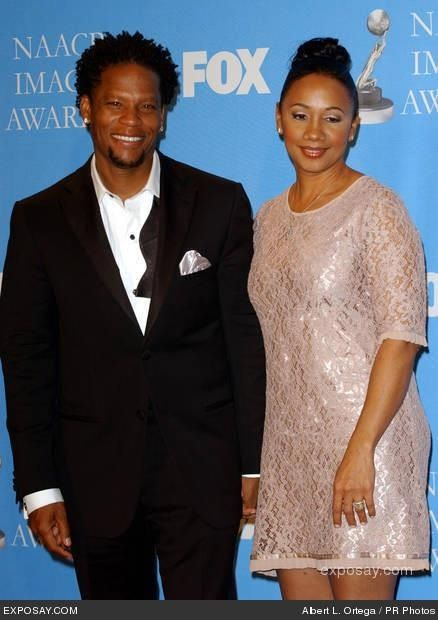 DL Hughley & Wife