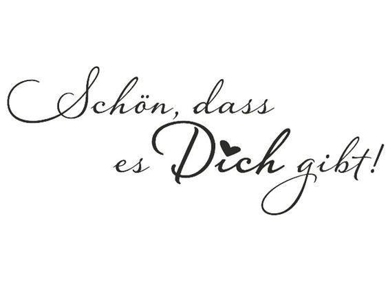Stempel - Schön, dass es Dich gibt. Paperflair.de