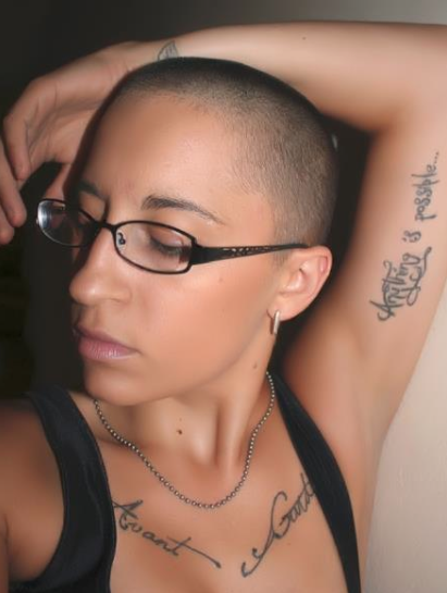 Womens Shaved Heads 43