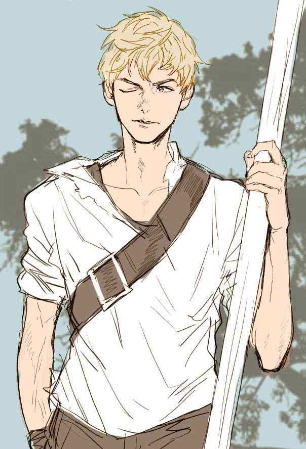 This Is My Fav Newt Fan Art! He actually looks a lot like Thomas ...