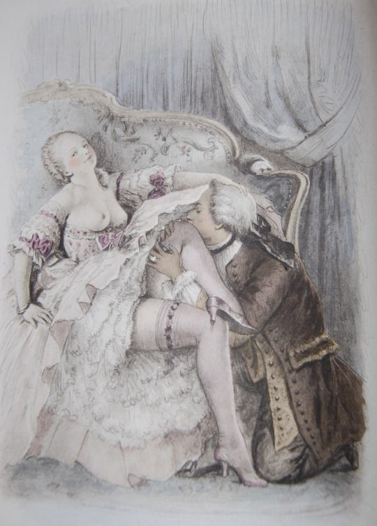 19th art century early erotic romantique picture 892
