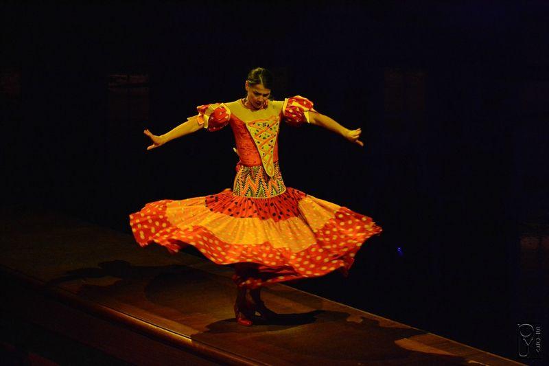Puy du Fou, spectacle, les mousquetaires de Richelieu,danseuse flamenco