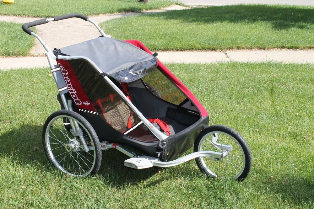Chariot Cougar 2 Avocado Jogger Double Seat Stroller | Joggers ...