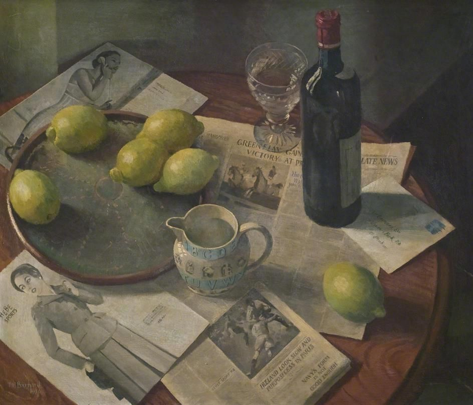 Still Life  by Thomas Henslow Barnard