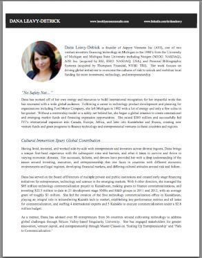 Professional Bio - Venture Capitalist | Brooklyn Resume Studio ...