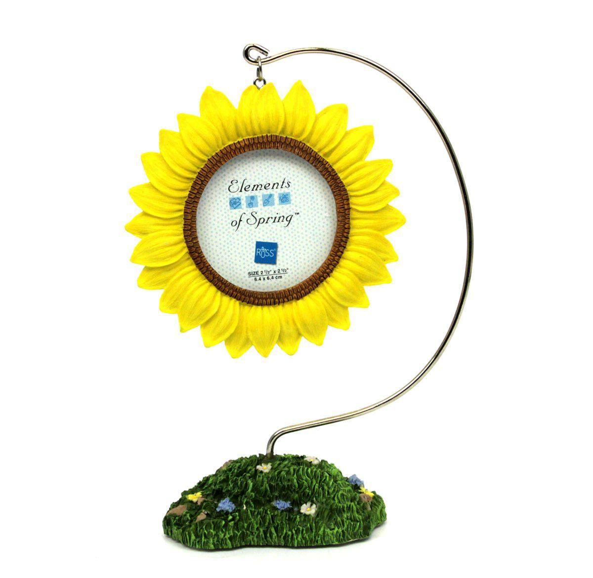Elements of Spring - Sunflower Photo Frame | Sunflowers, Sunflower ...