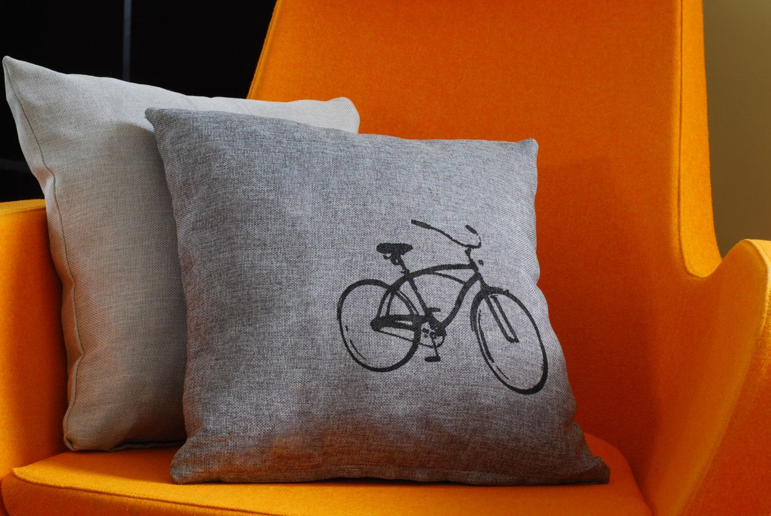 Vintage Bicycle Pillow Case ON SALE by AMorbidTale on Etsy https://www.etsy.com/listing/130602175/vintage-bicycle-pillow-case-on-sale