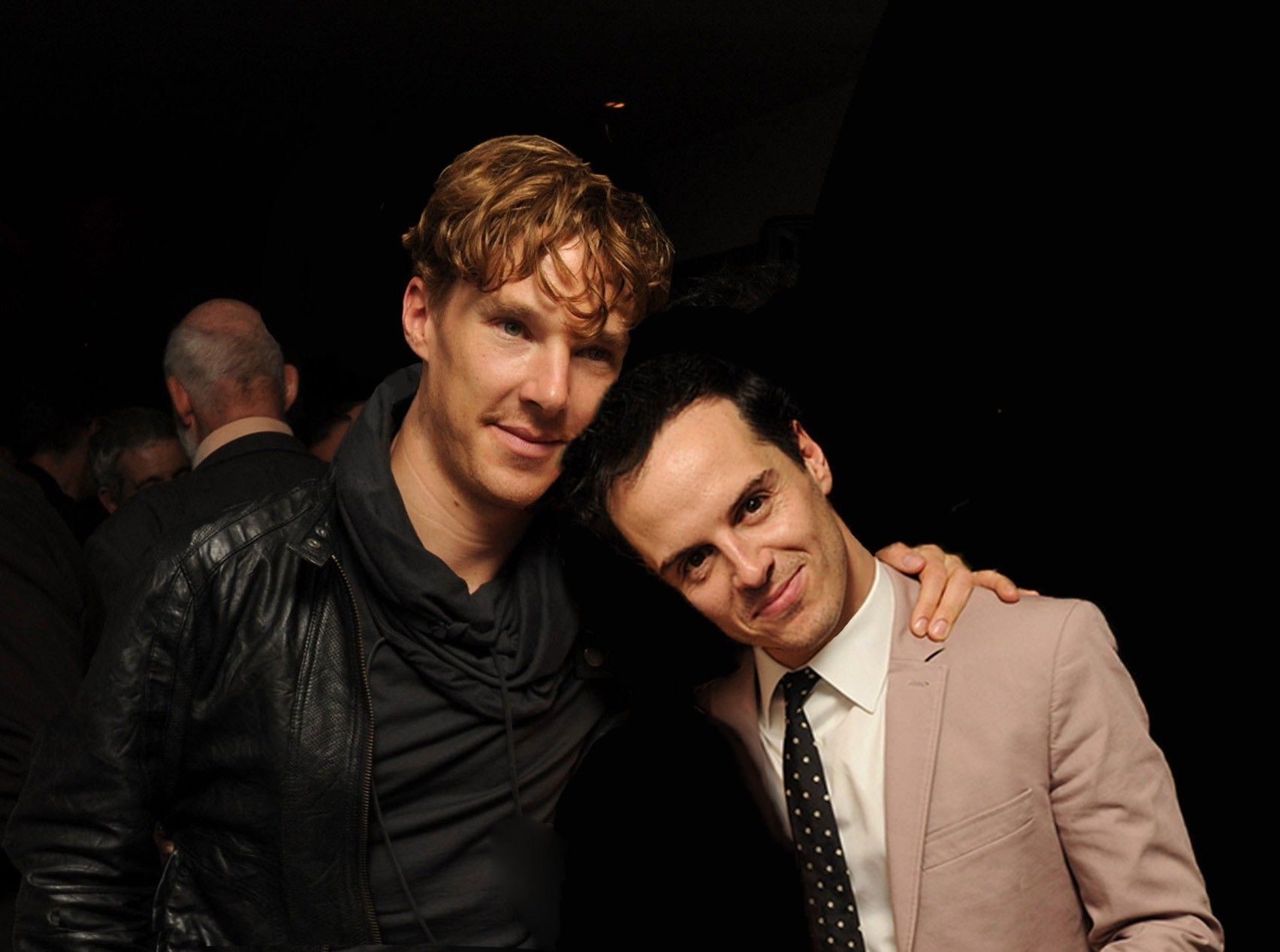 Andrew Scott to follow Benedict Cumberbatch as Hamlet ...  |Andrew Scott And Benedict Cumberbatch In Pajamas