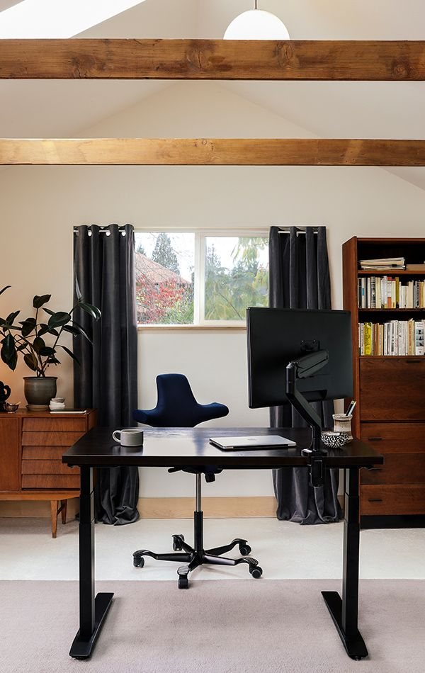 Home Standing Office Design Ideas: Jarvis Bamboo Standing Desk In 2019