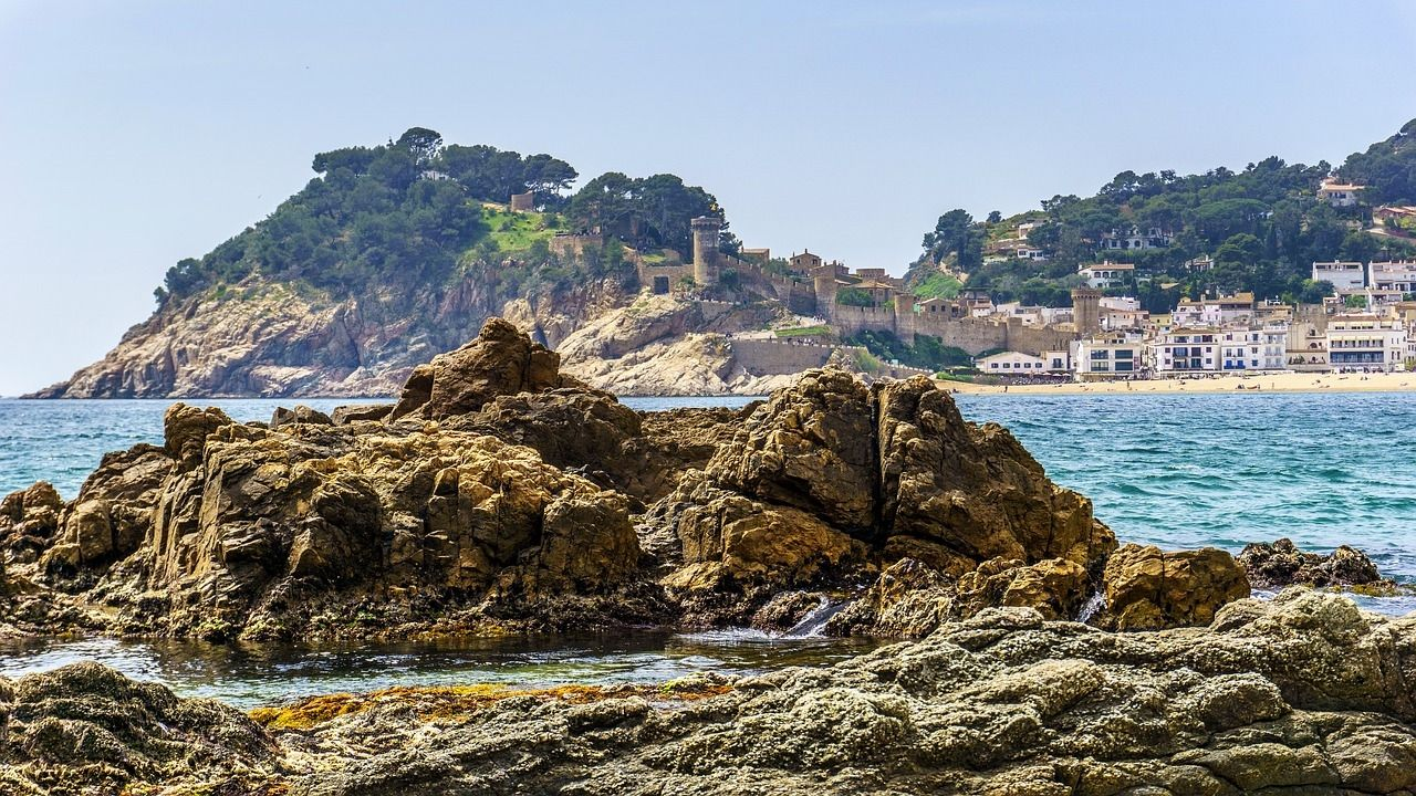 Tossa De Mar Hoteles De Playa Tossa De Mar Destinos Navideños