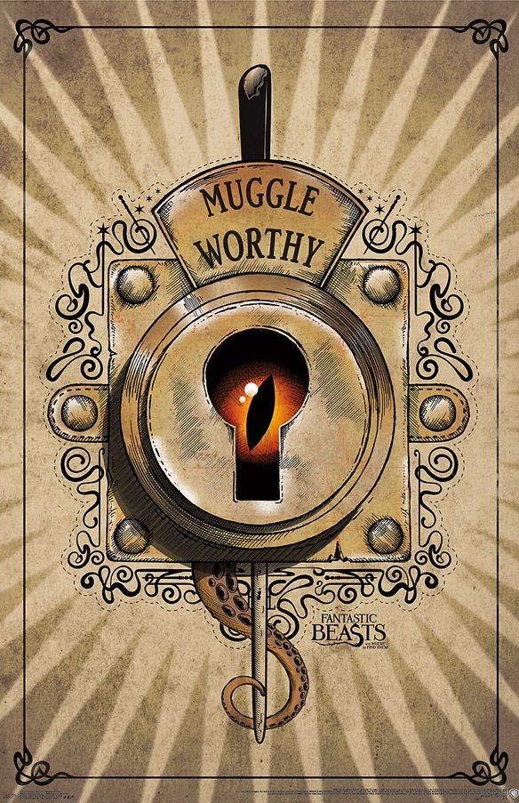 Fantastic Beasts And Where To Find Them Muggle Worthy Poster