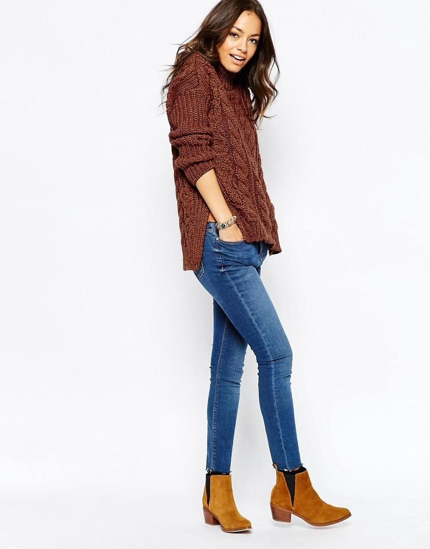 New look cable jumper other knits pinterest cable jumper and
