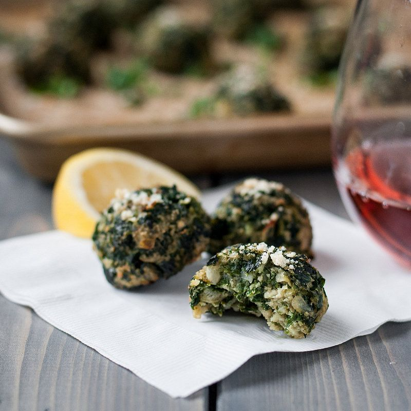 Baked Parmesan Kale Puffs Recipe Brunch Cooking