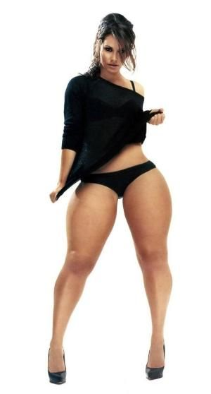 Apologise, but, Curvy women with big hips