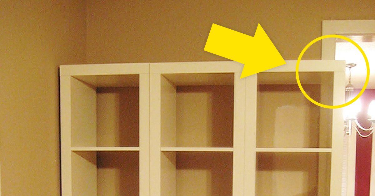 Cuando vio que su nuevo mueble del IKEA no Encajaba, tuvo