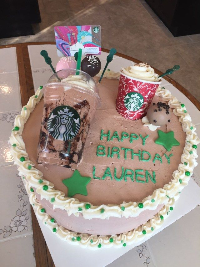 30+ Creative Photo of Birthday Cake Frappe - birijus.com #starbuckscake