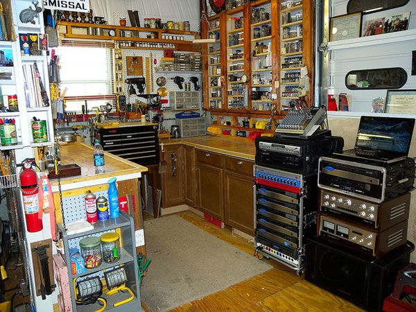 How To Build The Ultimate Garage Workshop Home Workshop Garage Workshop Layout Garage Workshop Plans