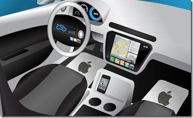 Steve Jobs iCar concept.