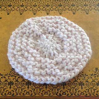 Knit Round Coaster Free Pattern From Ravelry This Circular