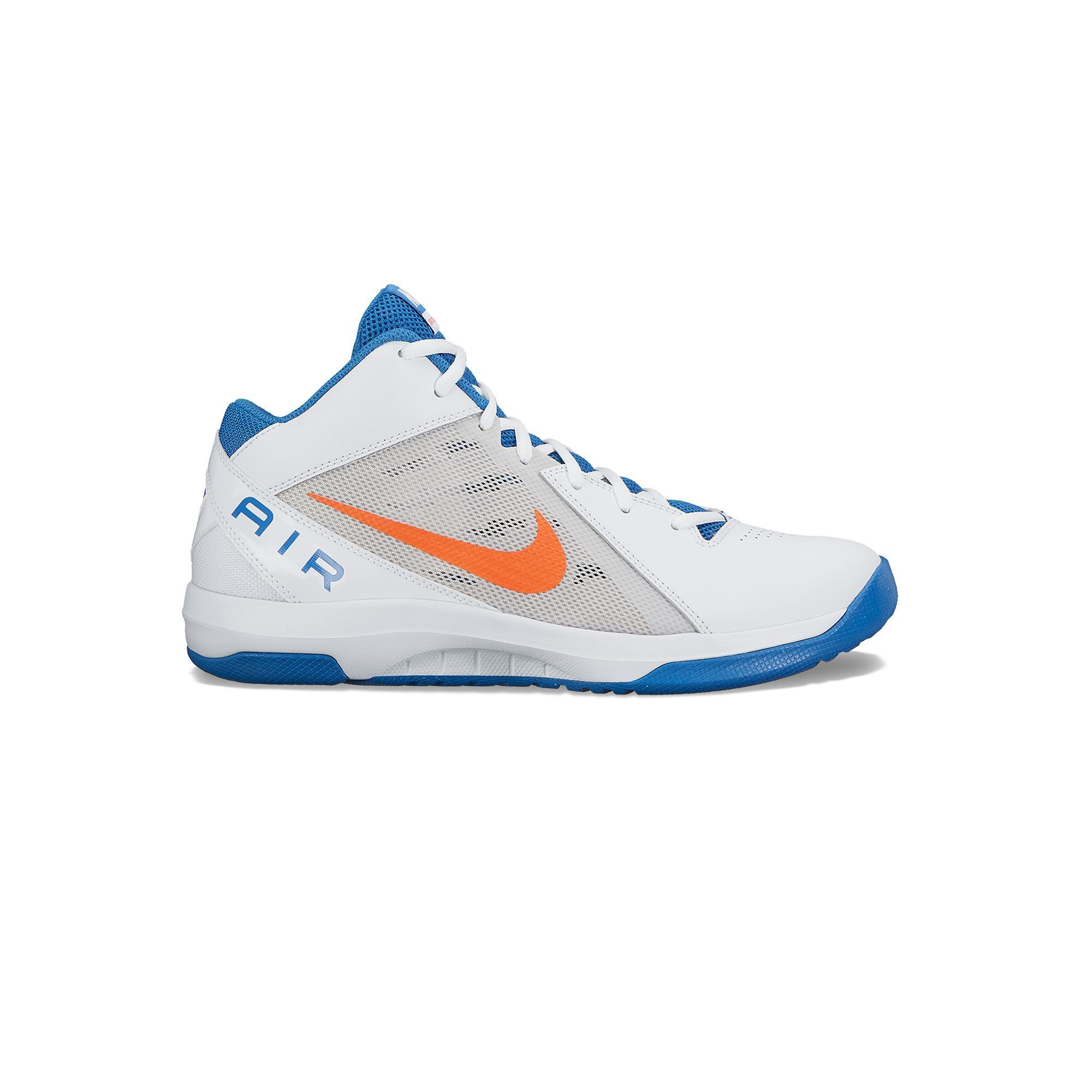 Nike The Air Overplay IX Men's Basketball Shoes, Size: 14, Natural