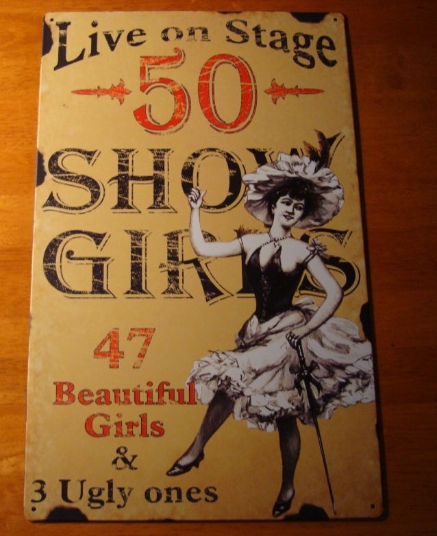 Live On Stage 50 Show Girls 47 Beautiful Ones And 3 Ugly Ones