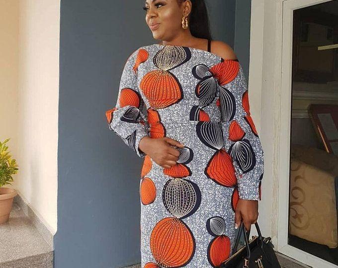 AFRICAN Dress for Women, Ankara Print, African Dress #ankarastil
