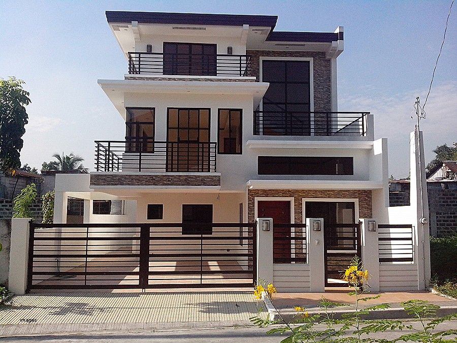Discover The Plan 1701 Elia Which Will Please You For Its 3 Bedrooms And For Its Contemporary Styles Contemporary House Plans Narrow House Designs Modern Style House Plans