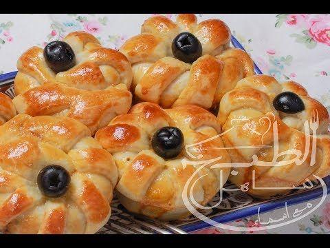 أسهل بريوش مالح بشكل جديد سهل شهي خبز محشي خفيييييف رائع Youtube Food Meat Shrimp