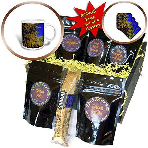 Coffee and tea christmas gift baskets