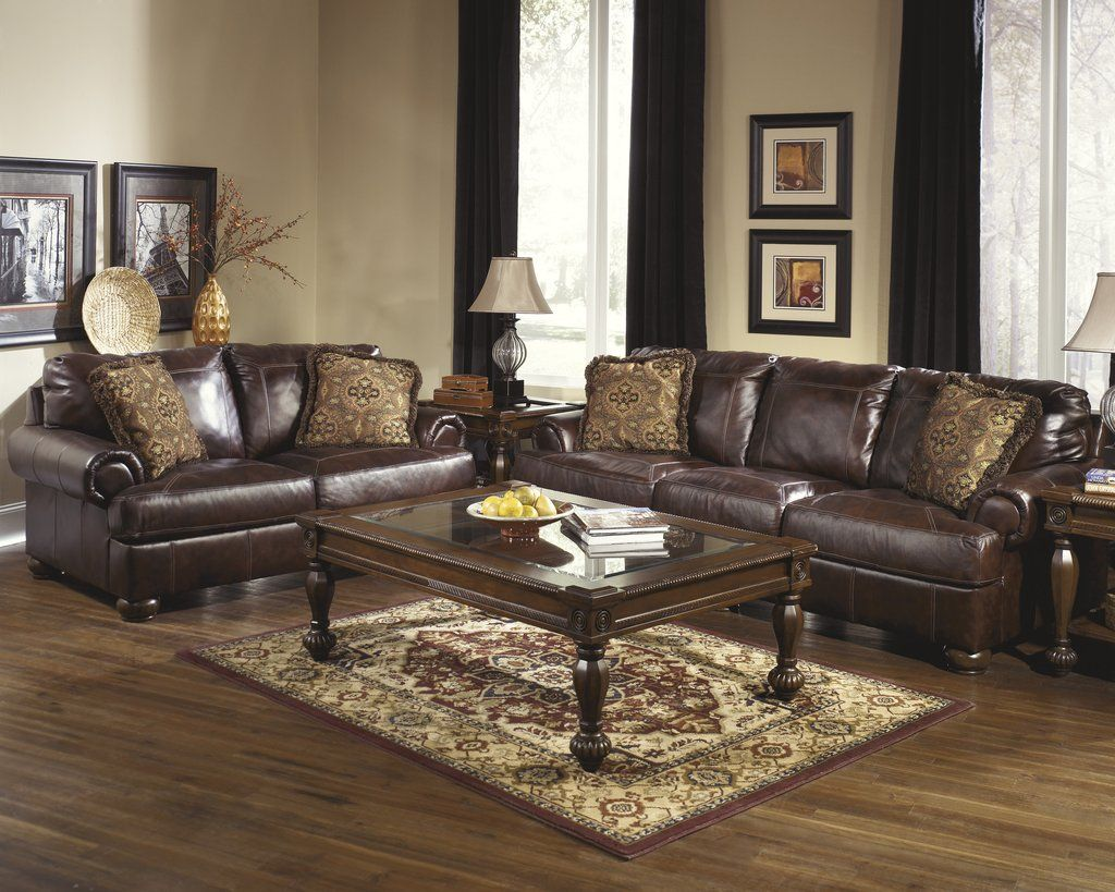 Axiom Sofa Loveseat 42000 Living Room Leather Walnut Living