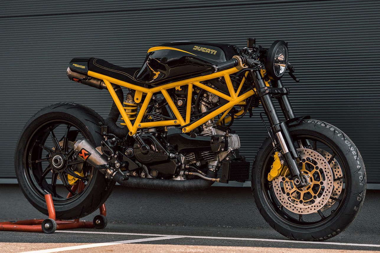 Ducati 750ss Predator By Nct Motorcycles A Highly Customized