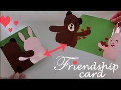 Friendship card - Easy DIY - YouTube