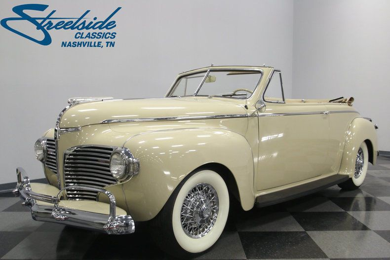 1941 Dodge Luxury Liner | Luxury, Convertible and Cars