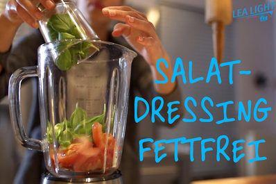 Unsere Powerfrau LeaLight liebt vollmundigen Geschmack – aber nicht auf Kosten eines zu hohen Fettgehalts. Also hat sie ein eigenes Salatdressing kreiert, dass toll schmeckt und nicht dick macht.