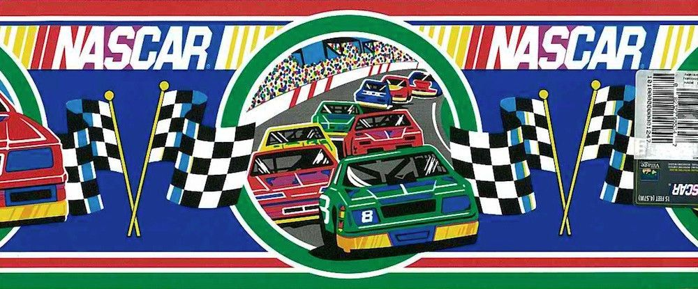 12 99 Package An Authentic Licensed Nascar Wallpaper Border