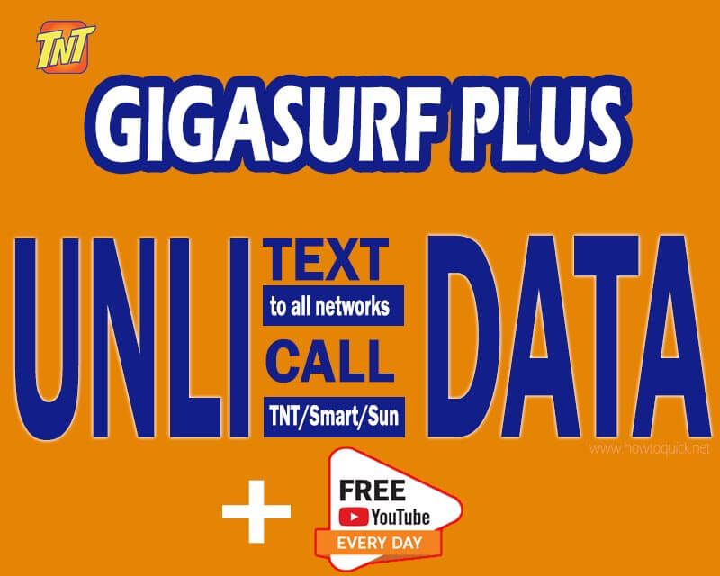 Tnt Gigasurf Plus Promo 3 Network Data Text