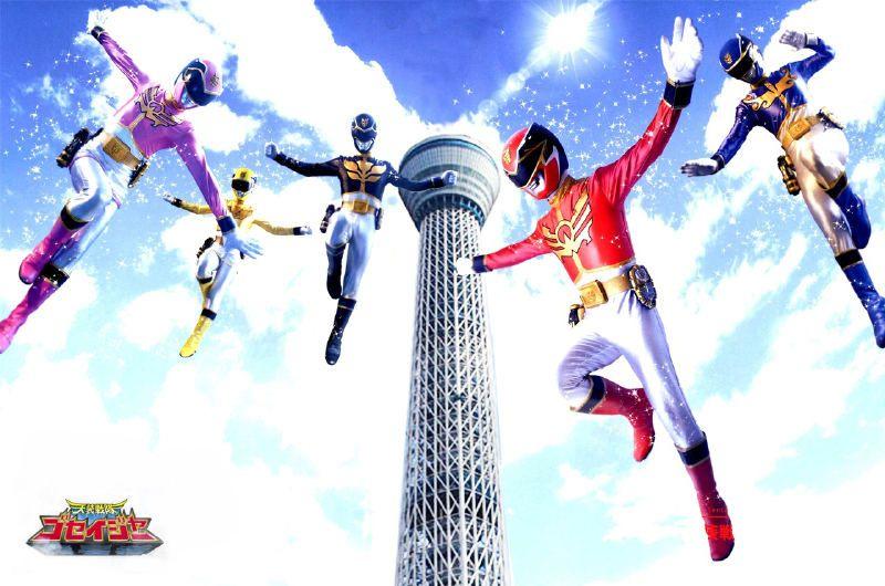 power rangers megaforce meet goseiger